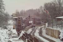 Baubegleitung Hochwasserschutzwand Gohlis